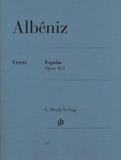 Henle Urtext Albeniz Espana Opus 165
