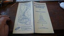 Washington and Old Dominion Railroad Timetable - 11/12/1939