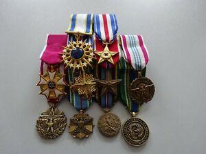 Kleine Ordensspange General Silver Star Legion usw.10 Orden US Air Force
