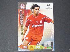 MODESTO OLYMPIAKOS UEFA PANINI CARD FOOTBALL CHAMPIONS LEAGUE 2011 2012