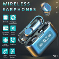 Touch Bluetooth 5.0 Earphone Wireless Earbuds Stereo Headsets Noise Cancelling
