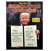 trump's Ejecutivo pedidos notas adhesivas Set