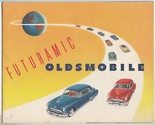 "[60751] 1949 OLDSMOBILE NEW CAR MODELS ""FUTURAMIC"" BROCHURE"