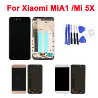 Original OEM For Xiaomi A1 5X LCD Display Frame Touch Screen Digitizer Assembly