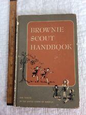 Brownie Scout Handbook ~ Hardcover ~ 1951
