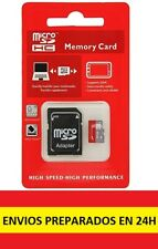 Tarjeta de Memoria Micro SD 32 GB Clase 10, alta velocidad