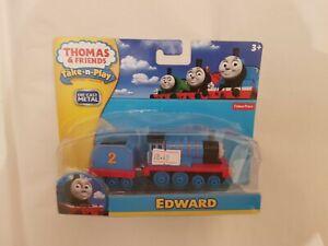 Thomas The Tank & Friends TAKE ALONG N PLAY EDWARD TRAIN DIECAST NEW  BOXED