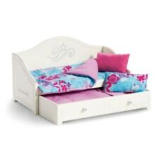 "American Girl Truly Me Trundle Bed & Bedding Set for 18"" Doll NEW"