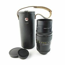 Para m42 Pentacon 4/200 last versión objetivamente lens 15 blades + Case