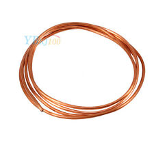2M Soft Microbore Copper Tube Pipe OD 4mm x ID 3mm For Refrigeration Plumbing MP