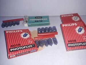 Phillips AG1, AG1B  Photoflux Flashbulbs