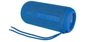 SILVERCREST® Lautsprecher Bluetooth blau Handy Subwoofer PC Musikbox