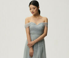 ee50b413e6 BHLDN Jenny Yoo sage M 8 10 Maia Dress Convertible Cocktail Formal Strapless