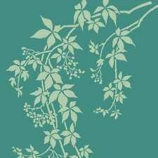 Virginia Creeper Craft Stencil - Size MEDIUM - By Cutting Edge Stencils
