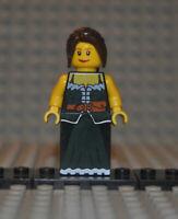 Lego Figur cas412 Fantasy Era Peasant Female aus 10193 Medieval Market Village