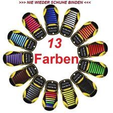 Unisex Silikon Schnürsenkel,Schnürbänder,Schuhband,Elastisch,Flach >ohne binden<