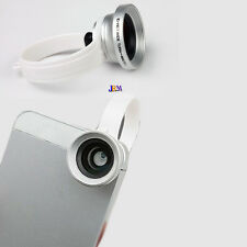 2-in-1 clip su Grandangolo Lente Macro Lens Photo Kit Set Per iPhone Samsung HTC