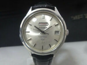 Vintage 1966 CITIZEN Automatic watch [Crystal Seven 7] 33 Jewels