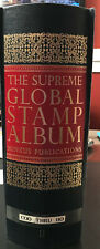 1966 Minkus Supreme Global Album Ii W/1650 Stamps C to H To About 1971