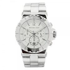 Michael Kors Dylan Damen Chronograph Uhr Edelstahl Armband MK5312