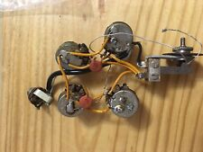 Vintage 1965 Gibson SG Wiring Harness with Pots , Switch and Input Jack