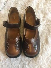 Vintage Dr. Martens Brown Mary Jane Shoes Size 5 Women's