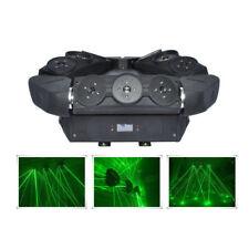 9 lens Green Moving Spider Beam Laser Light DMX DJ Professional Stage Lighting