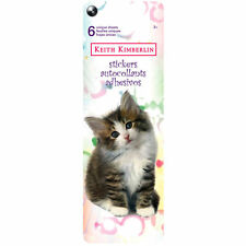 Keith Kimberlin Stickers Cats Kittens 72 pcs - NEW