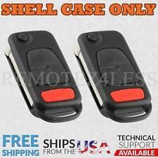 2 For 1998 1999 2000 Mercedes CLK320 CLK430 ML320 ML430 ML55  Remote Shell Case