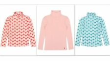 Girls' 100% Cotton Long Sleeve Sleeve Stretch T-Shirts, Top & Shirts (2-16 Years)