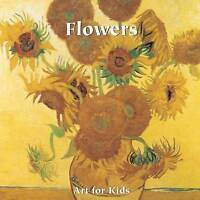 Puzzle Books: Flowers (Art for Kids Collection), Parkstone Press, Excellent, Har