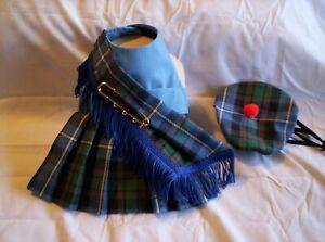 Nova Scotia Blue Dog Harness Kilt  & Hat XXXS,XXS,XS,S,M,L