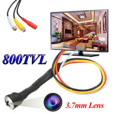 Smallest 3.7mm Mini Screw 800TVL HD CCTV Color Spy Hidden Pinhole Micro Camera