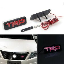 For Brand New Front LED Light Emblem JDM TRD RACING FRS SUPRA MR2 Supra + Badge