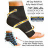 Ankle Brace Sock Foot Plantar Arch Support Compression Sports Socks Pain Relief