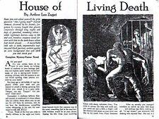 Pulp reprint TERROR TALES #1 - September 1934 - Hugh Cave, G.T. Fleming Roberts