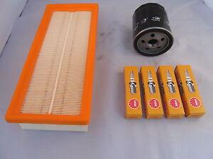 Fiat Panda 1.1 Petrol Service Kit Oil Air Filter Spark Plugs 2004