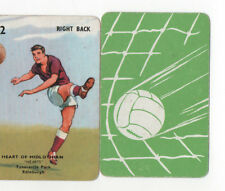 JSCARDS HEARTS OF MIDLOTHIAN CARD -PEPYS GOAL CARD GAME 1960'S?
