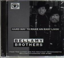 (AM313) Bellamy Brothers, Hard Way To make An...- DJ CD