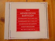 Mendelssohn pianoforte quartetto No. 1 & 2 Trio Bell-ARTE NUOVO