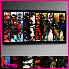 G035 street fighter iv game canvas print A2 16x24 Art