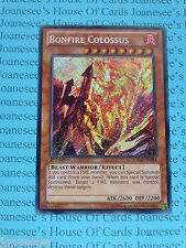 Yu-gi-oh Bonfire Colossus CBLZ-EN084 Secret Rare Mint 1st Edition