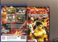 TEKKEN 5 PLAYSTATION 2 PS2  PS 2 BEAT EM UP FIGHTING