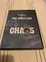 BEST OF PRO WRESTLING CHAOS 2018 British Wrestling Dvd FREE UK POSTAGE WWE AEW