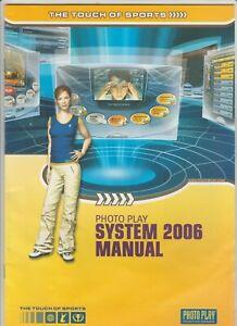 Photo Play System 2006 Manual - Bedienungsanleitung  Sticker Sensoren