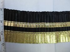 Lace Trimming, Nylon Fabric Edge Fold Wavy Trim Organza Lace Trim Sewing per 2yd