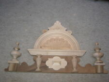 Nice natural top / crown for a caliope or wardrobe; cabinet, music box etc.