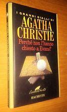 GIALLI AGATHA CHRISTIE-PERCHé NON L'HANNO CHIESTO A EVANS-HACHETTE-2003-SR9