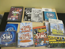 The Sims PC Game Lot Sim City 3000 Unlimited, Deluxe Edition, Unleashed, Magic