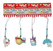 Japan Sanrio Pochacco Kuromi Cinnamoroll Hangyodon Mascot Charm Mobile Strap